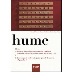 Hume. Llegir el resum d'un llibre recentement publicat intitulat «Tractat de la natura humana» (1-25), i la «Investigació sobre els principis de la moral» (Apèndix I)