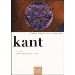 Kant. Leyendo «Crítica de la razón pura»