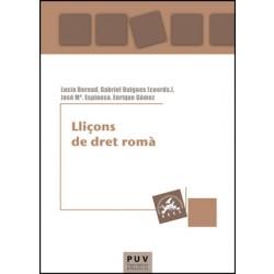 Lliçons de dret romà