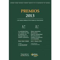 Premios 2013 a los mejores trabajos de fin de Master y/o Tesis doctoral
