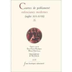 Cartes de poblament valencianes modernes. Vol.II