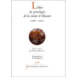 Llibre de privilegis de la ciutat d'Alacant (1366 -1450)
