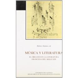 Música y literatura. El órgano en la literatura francesa del s. XIX