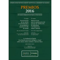 Premios 2016 a los mejores trabajos de fin de Master y/o Tesis doctoral