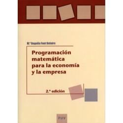 Programación matemática para la economía y la empresa (2ª ed.)